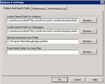 Using the Debug Diagnostic 1 1 Tool to Troubleshoot Application