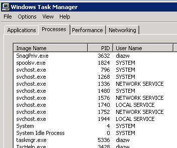 svchost.exe (local service)