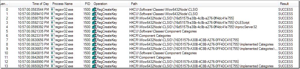Explaining Regsvr32 (Best Efforts) « Windows Explored
