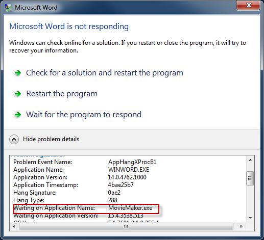 Resolve That Application Crash The Easy Way « Windows Explored