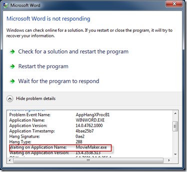 Resolve That Application Crash The Easy Way « Windows Explored