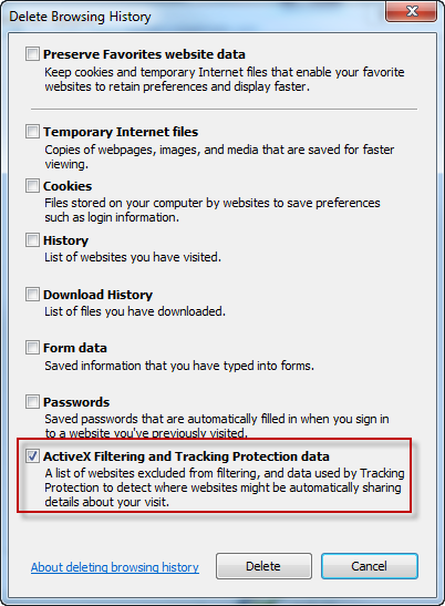 A Quick Look at IE 9 Tracking Protection « Windows Explored