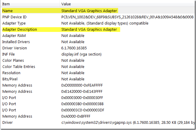 Troubleshooting Disabled or Missing Aero Features « Windows