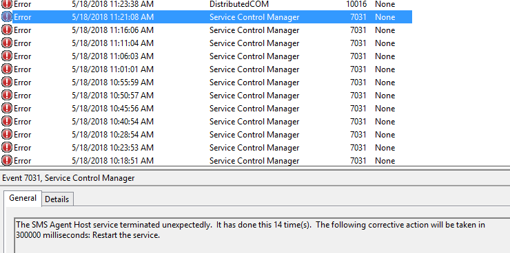 Crashing Config Manager Client & Remote Control Viewer after Windows
